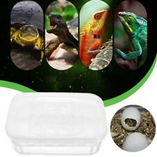 12 Reptile Eggs Incubator Tray Lizard Snake Bird Eggs Hatcher Box Case
