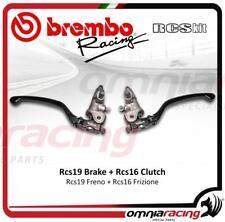 Brembo kit pompe freno radiali RCS19+frizione RCS16+leve regol snodate e switch