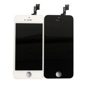 Apple iPhone 5S WHITE Color  LCD  Touch Screen and Digitizer Assembly