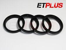 Espita Anillos aleaciones de aluminio de ajuste (4) 74.1mm a 65.1mm 74.1 65.1 hub espaciadores