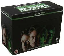 THE INCREDIBLE HULK SERIES 1 - 5 COMPLETE DVD BOX SET NEW