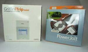 Griffin iTripMini FM Transmitter, Apple ITunes Software, USB Outlet, Pwr Cable