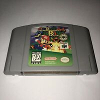 VG COND Nintendo 64 N64 Game SUPER MARIO 64 Fun Tested SAVES Works Great Classic