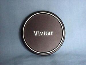 VIVITAR ORIGINAL 62mm JAPAN MADE METAL LENS CAP
