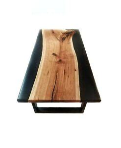 152cm x 81.3cm Résine Table, Époxy Café Table Top , Époxy en Bois Table Décors