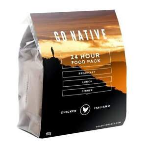 Go Native 24 Hour Food Ration Pack NZ Chicken Italiano
