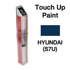 Hyundai OEM Brush&Pen Touch Up Paint Color Code : S7U - Atlantic Blue