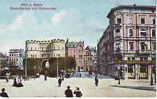 Germany AK Koln Köln Coln Cöln - Rudolfplatz mit Hahnentor 1908 cover postcard