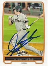 Andrew Susac San Francisco Giants 2012 Bowman Signed Card