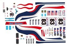 #83 Dick Barbour Porsche GT-3R 2000 1/43rd Scale Slot Car WATERSLIDE DECALS