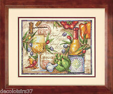 Dimensions 70-03247 Pinot Grigio Kit Embroidery Cross Stitch Printed