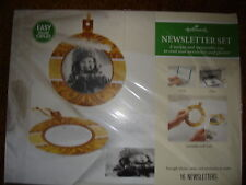 Hallmark Newsletter Set Memorable Way To Send Newsletters And Photos Gold Bulb