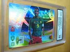 SAMUEL ETO'O 2014 ADRENALYN XL FIFA WORLD CUP BRASIL GAME CHANGER GRADED 10