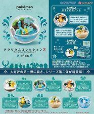Re-ment Pokemon Terrarium Collection-2 6 pcs Figure Complete BOX Japan F/S