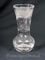 Crystal Glass  Small Onion Shaped Vase