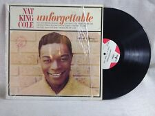 Nat King Cole Records Unforgettable AND Ramble Rose VG+ Condition