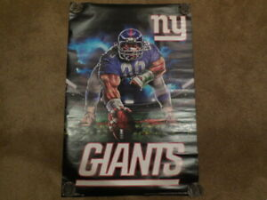 1  new york giants point stance poster new