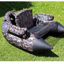 Bootsport Angelboot Belly Boat Camou inkl Tasche und Pumpe 140x130x50cm Boot