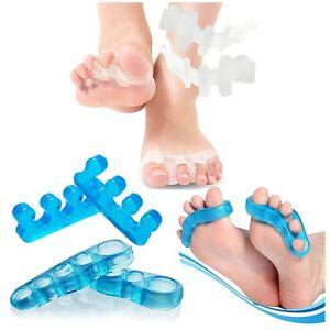 Toe Separators Set, Toes Alignment , Gel Toe Spacers  Instant Bunion relief  B1