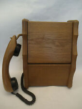 Vintage German Post Wall Wooden Telephone Phone DFeAp 392