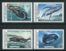 Dominica 1983 balene Whales animali marini 805-808 ** MNH