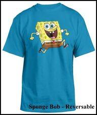 Bob Esponja-Reversable, t-shirt, tamaño: s-k * U * L * t * Sponge Bob