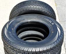 2 Transeagle II Steel Belted ST 225/75R15 Load E 10 Ply Heavy Duty Trailer Tires