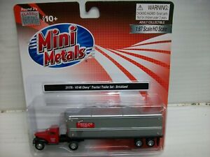 Ho Scale Classic Metal Works 31176 1944-46 Chevy Tractor/Trailer, Strickland