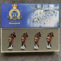 W Britains 40307 Collector Club Golden Jubilee Pakistan Army Pipes Drums Set 4