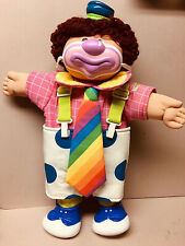 Vintage 1978-82 Coleco Cabbage Patch CLOWN-W/Squeaking Shoe-SOoo Cute!