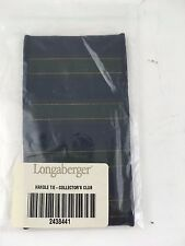 Longaberger Small Handle Tie Gripper Collector's Club Blue NIP