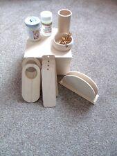 DIY -WOODEN GIFT BOX + GLUE+CRACLE+ NAPKINS -  DECOUPAGE SET no 4