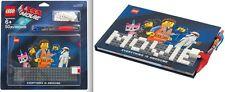 LEGO - Diario di appunti - Volume-Quaderno personalizzabile LEGO MOVIE con penna