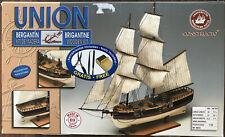 Constructo Union Brigantine Wooden Ship Model Kit 1:100 #80616
