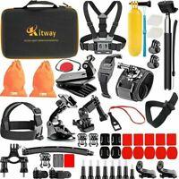 65-in-1 Action Camera Accessories Kit for Akaso EK7000 DJI Osmo Pocket GoPro Max