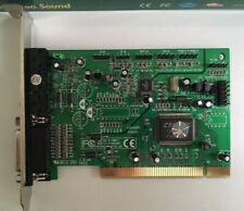 PINE Crystal 4281 PCI Sound Card, PT-2620-40 V3.0, 18-bit.