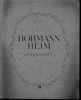 HOHMANN-HEIM ~ Violinschule Heft 3