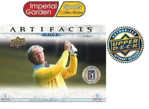 2021 UD ARTIFACTS GOLF HOBBY FACTORY SEALED BOX *CANADA SHIP ONLY*