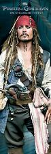 PIRATES OF THE CARIBBEAN ~ ON STRANGER TIDES JACK STARE DOOR 21x62 MOVIE POSTER
