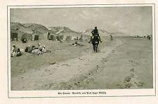 """Bild aus altem Buch """"Am Strand""""   (OR1)"""