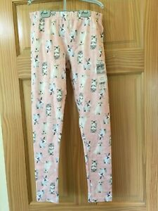 NWT Carter's Cat Dog Bunny Hearts Leggings Girls Pink Easter Fluffy Friends