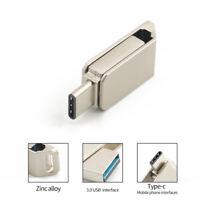 USB 3.0 +Type C OTG Flash Drive OTG USB-C Memory Stick U Disk 16/32/64GB LOH