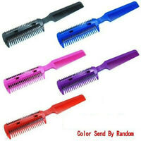DIY Hair Razor Comb Hairdressing Thinning Trimmer Punk Home Professional Scissor