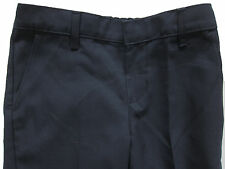 New Marks & Spencer Girls Blue School Trousers Age 4-5 Years x 1