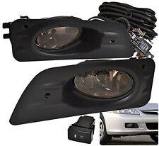 06-07 HONDA ACCORD LX EX 4DOOR DRIVING FOG LIGHTS LAMPS ASSEMBLY LH RH SMOKED