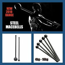 10Kg  STEEL MACE BELL Strength and Conditioning Workout Rotational Core Training