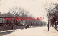London E17 - WALTHAMSTOW,  The Drive,  Real Photo used 1906.