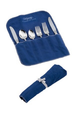 New listing Hagerty 19100 6-Piece Place Setting Roll, Blue