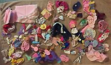 MIXED WHOLESALE LOT Baby Doll and Accessories + Barbie Clothes Accessories RARE