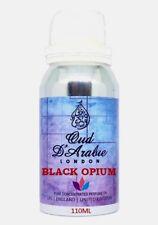 BLACK OPIUM 110ML PURE PERFUME OIL PREMIUM QUALITY ALTERNATIVE FACTORY SEALED